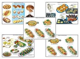 """Плакаты ПРОФТЕХ """"Приготовление и подача кулинарных блюд и мучных изделий"""""""