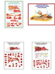 "Плакаты ПРОФТЕХ ""Разделка мяса"""