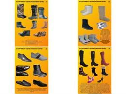 """Плакаты ПРОФТЕХ """"Ассортимент обуви"""""""