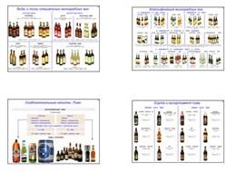 """Плакаты ПРОФТЕХ """"Алкогольные напитки"""""""