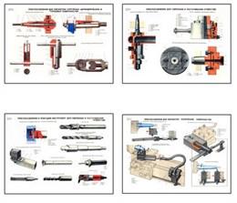 """Плакаты ПРОФТЕХ """"Инструменты и приспособления токарей-новаторов"""""""