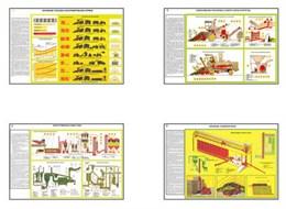 """Плакаты ПРОФТЕХ """"Комплексы машин для заготовки грубых и сочных кормов"""""""