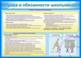 Права и обязанности школьников
