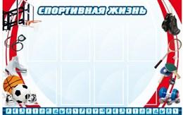 стенд Спортивная жизнь №1