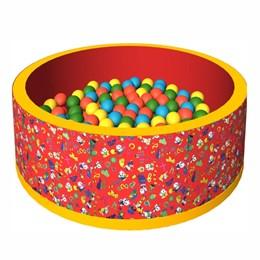Сухой бассейн с шариками «Веселая полянка»