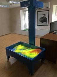 Интерактивная песочница в комплекте с интерактивным песком
