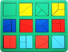 Сложи квадрат Б.П.Никитин 1 уровень (макси)