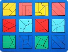 Сложи квадрат Б.П.Никитин 3 уровень (макси)