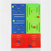Лабиринт «Полушарные доски» набор 3 шт.