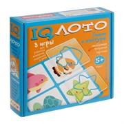 IQ-лото  «Линии и контуры», комплект из трёх игр
