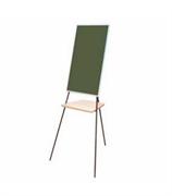 Мольберт зелёный  (Односторонний  из стального эмалированного листа)