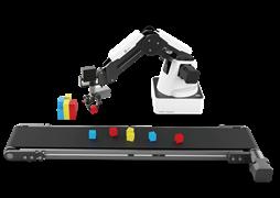 Образовательный комплект на базе учебного манипулятора DOBOT Magician с комплектом датчиков