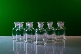 Набор флаконов 250 мл для хранения растворов реактивов (10 шт.)