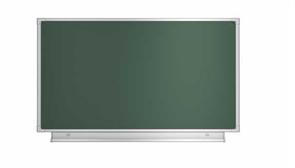 Доска аудиторная магнитная (зеленая) 1012х750мм
