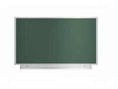 Доска аудиторная магнитная (зеленая) 1012х850 мм