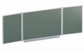 Доска аудиторная магнитная  (зеленая) 2032х750 мм