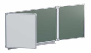 Доска аудиторная магнитная  (комбинированная) 2032х750 мм