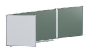 Доска аудиторная магнитная  (комбинированная) 3032х1012 мм