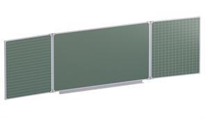 Доска аудиторная магнитная  (зелёная, линованная) 3032х1012 мм