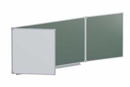 Доска аудиторная магнитная  (комбинированная) 3432х1012 мм