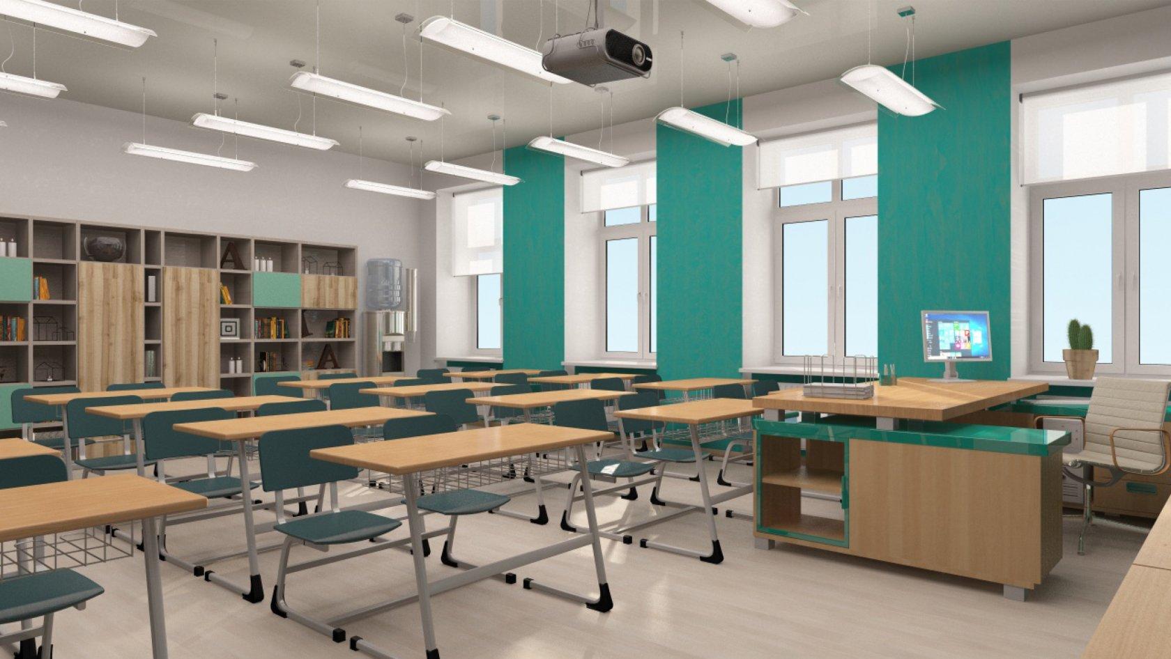 Картинка учебного класса кабинета